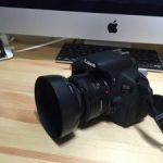 【Canon 単焦点レンズ EF50mm F1.8 II】に【Canon レンズフード ES-62】を装着!!