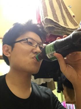 緑のコカ・コーラ