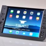 【ガジェット】背面にキーボードが!?iPad用Bluetoothキーボード!!