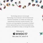 Apple!「WWDC 2017」を2017年6月5日〜9日に開催することを発表!!