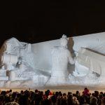 2017年!「さっぽろ雪まつり」に行ってきたぞ!!今年の大雪像は「FINAL FANTASY VII」のクラウド、セフィロスだ!