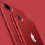 Apple!「iPhone7/iPhone7Plus」に「(PRODUCT)RED」が登場!!〜注文は3月25日から〜