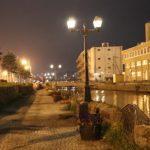 たまにはいつもと違う散歩をあじわいたい!〜夜中の小樽運河〜