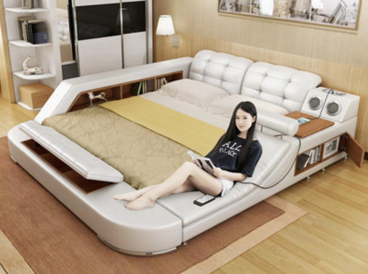 人間を完全にダメにする多機能ベッド