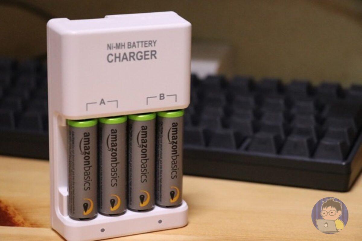 Amazon充電式ニッケル水素電池がいい感じだ
