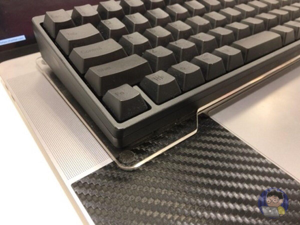 HHKBハードケースに「キーボードブリッジ」も収納できる!!
