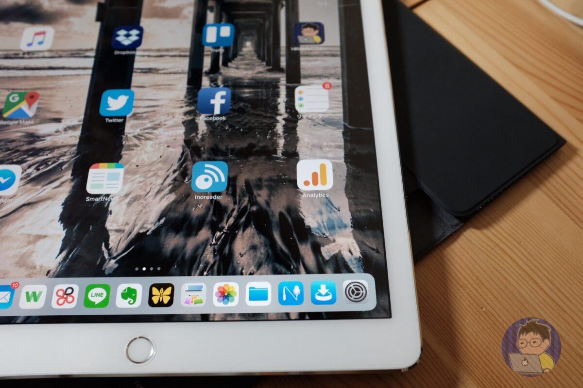 12.9インチ iPad Proの画面タッチが無反応になることがある