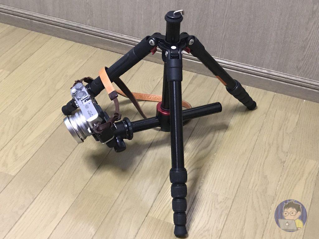 初めての本格的な三脚!K&F Concept TM2515T