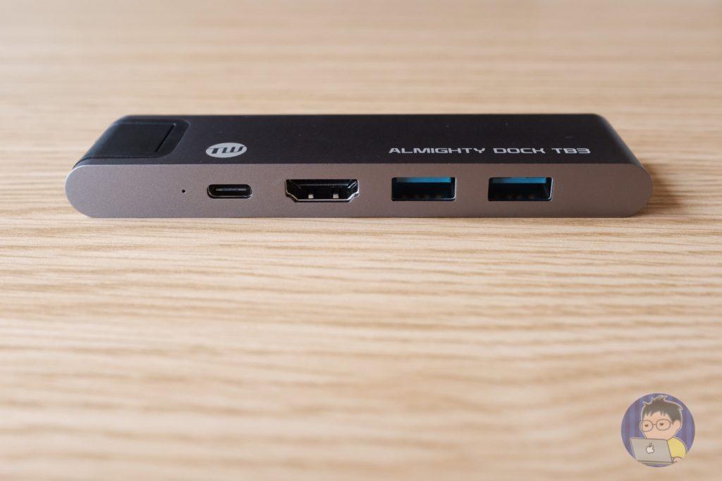 15インチ MacBook Proに最強ハブを購入しました〜TUNEWEAR ALMIGHTY DOCK TB3〜