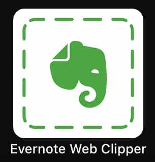 Evernote Web Clipperがアップデート!「Safari 13」で利用可能に!!