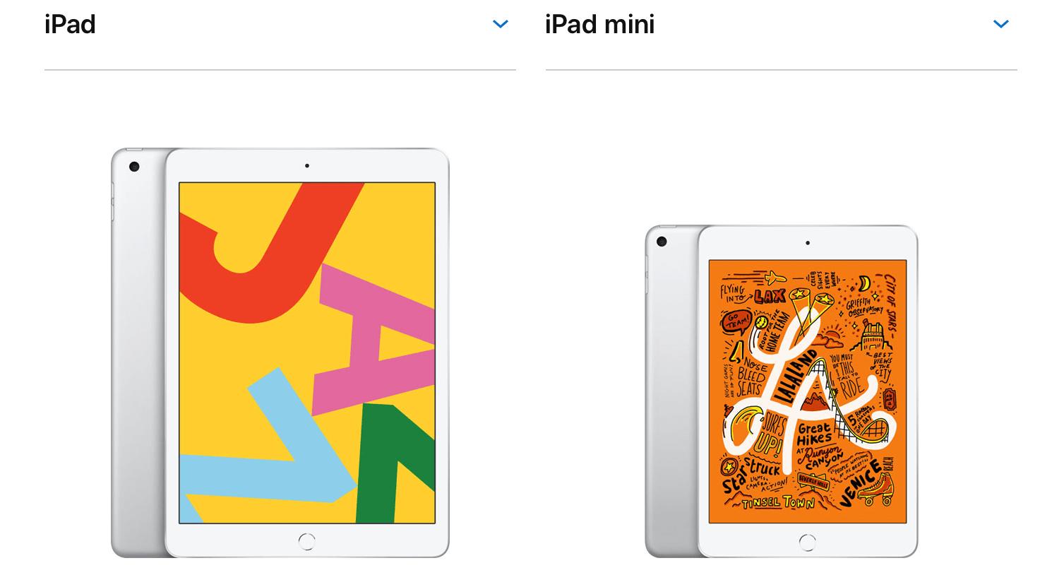 ヨドバシカメラ、ビックカメラにてSIMフリー版「iPad mini」「iPad(第7世代)」発売開始!