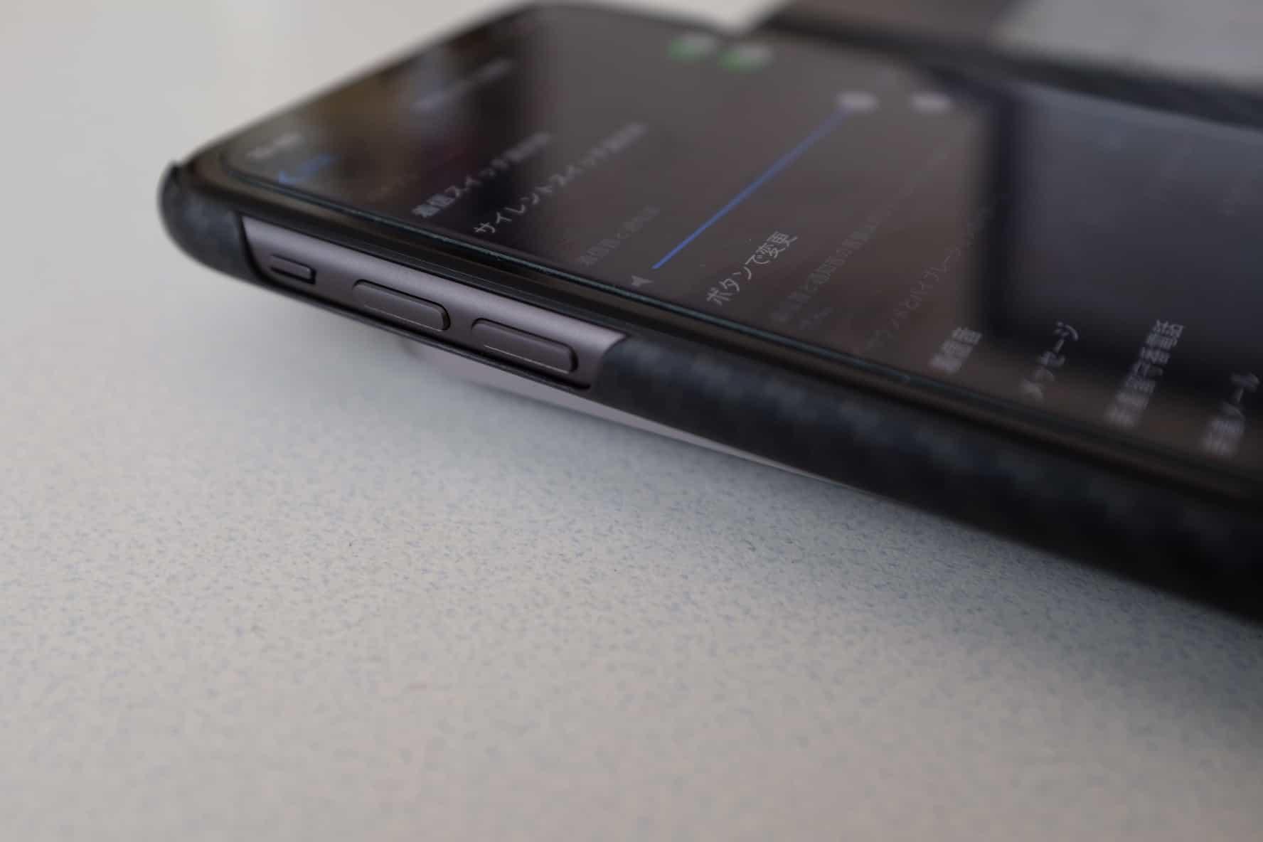 iPhone 11 着信音と通知音、アラームの音量がサイドボタンで調節出来ない!?