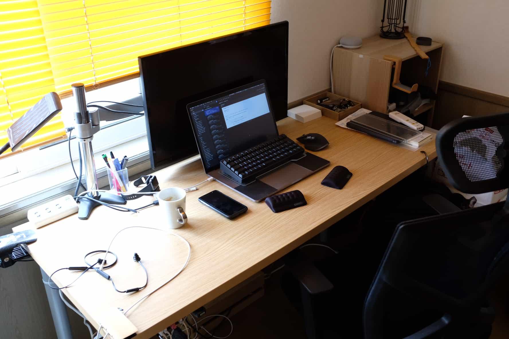 在宅勤務.部屋,デスク環境