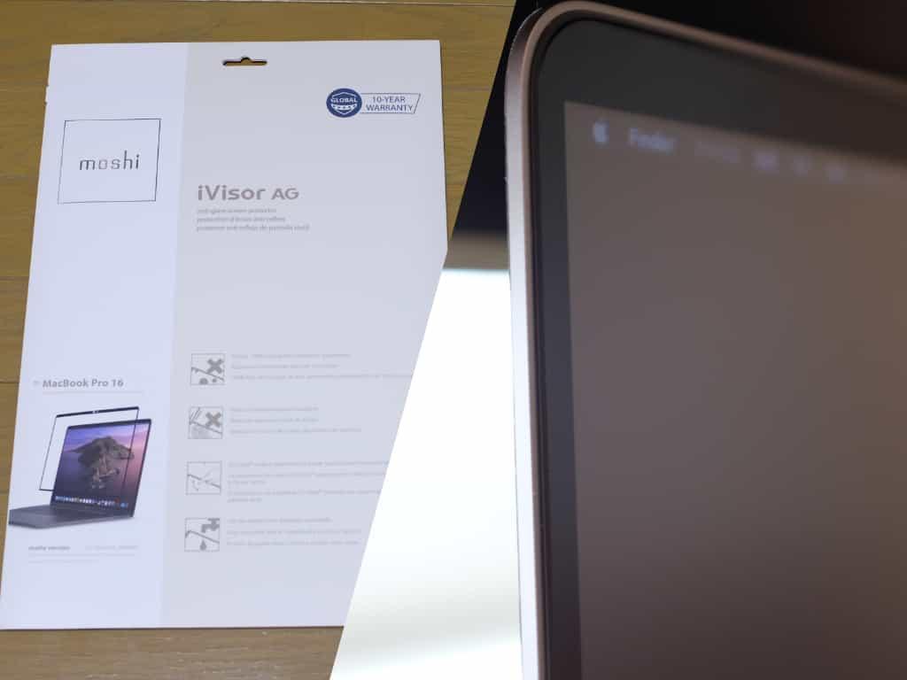 16インチ MacBook Pro.ディスプレイ保護フィルム