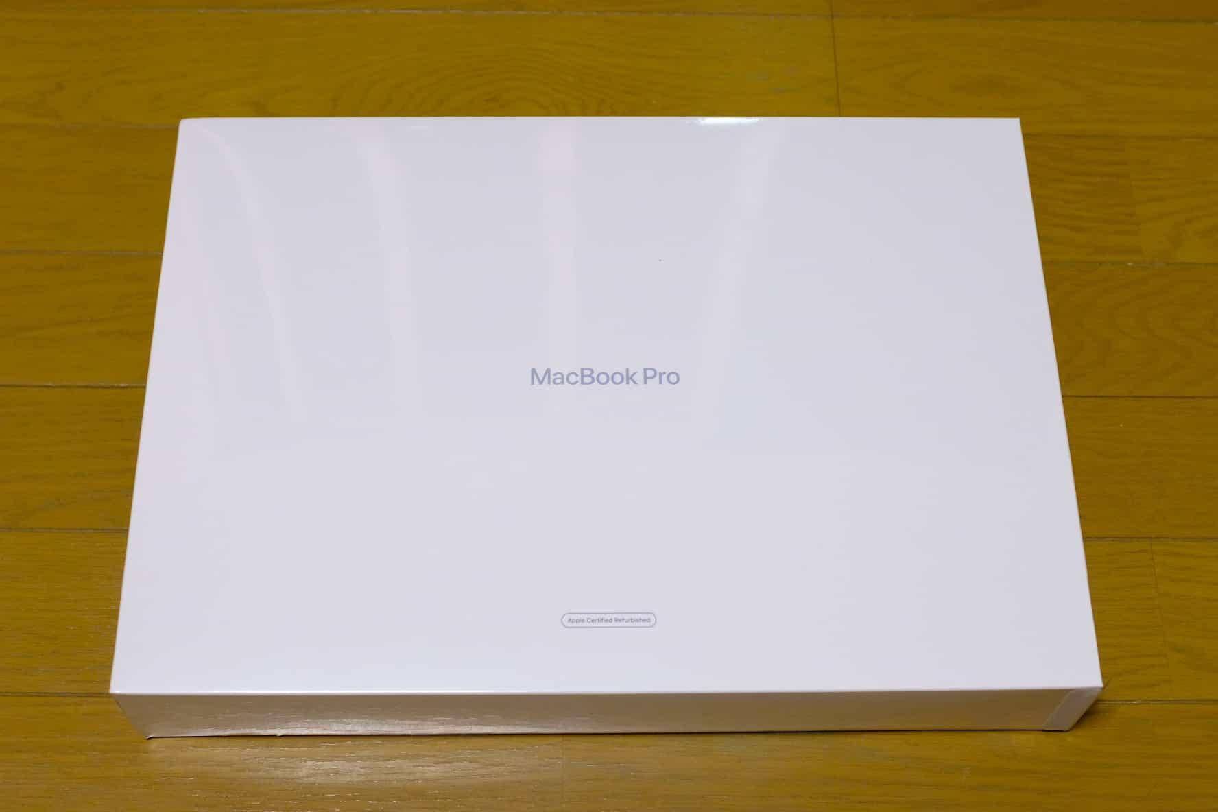 16インチ MacBook Pro.整備済製品