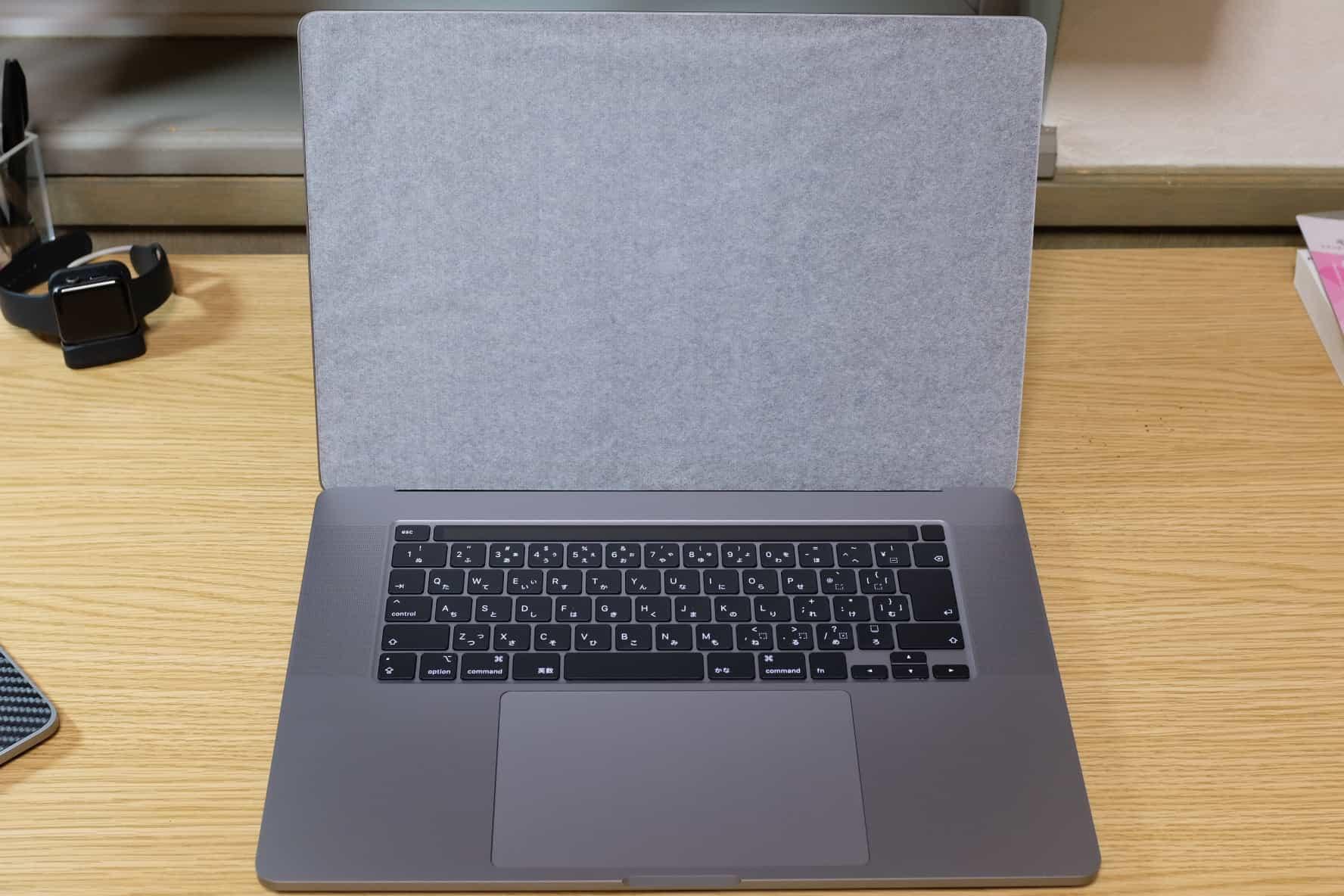 16インチ MacBook Pro開封