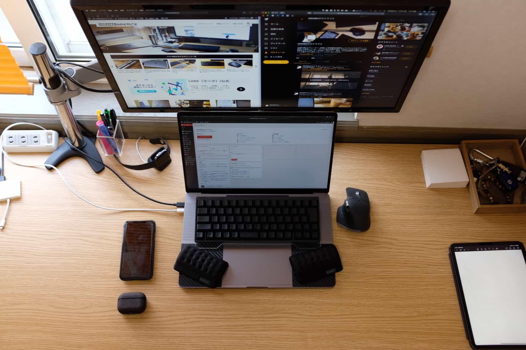 MacBookは黙ってクラムシェルモード!