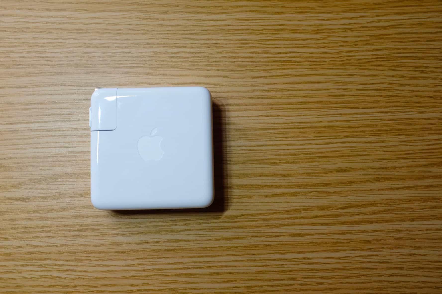 16インチ MacBook Pro の充電器は96Wじゃないと充電してくれない!?