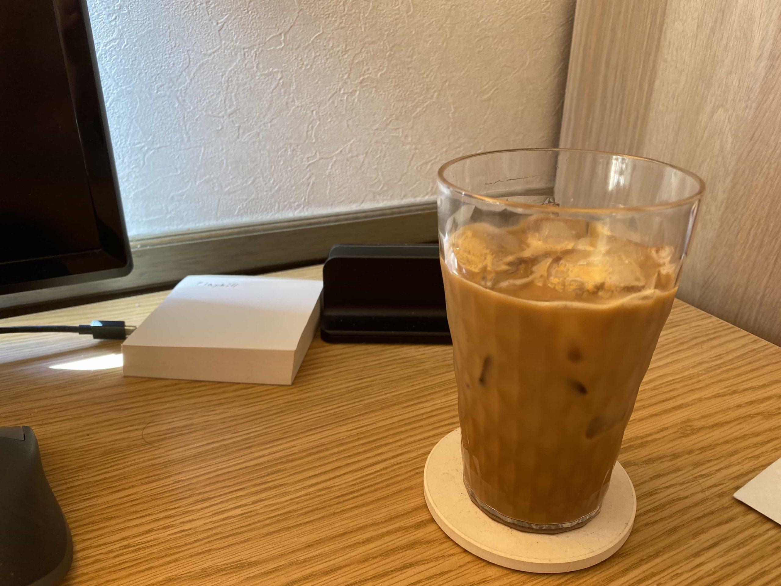 2.妻が作るアイスコーヒー