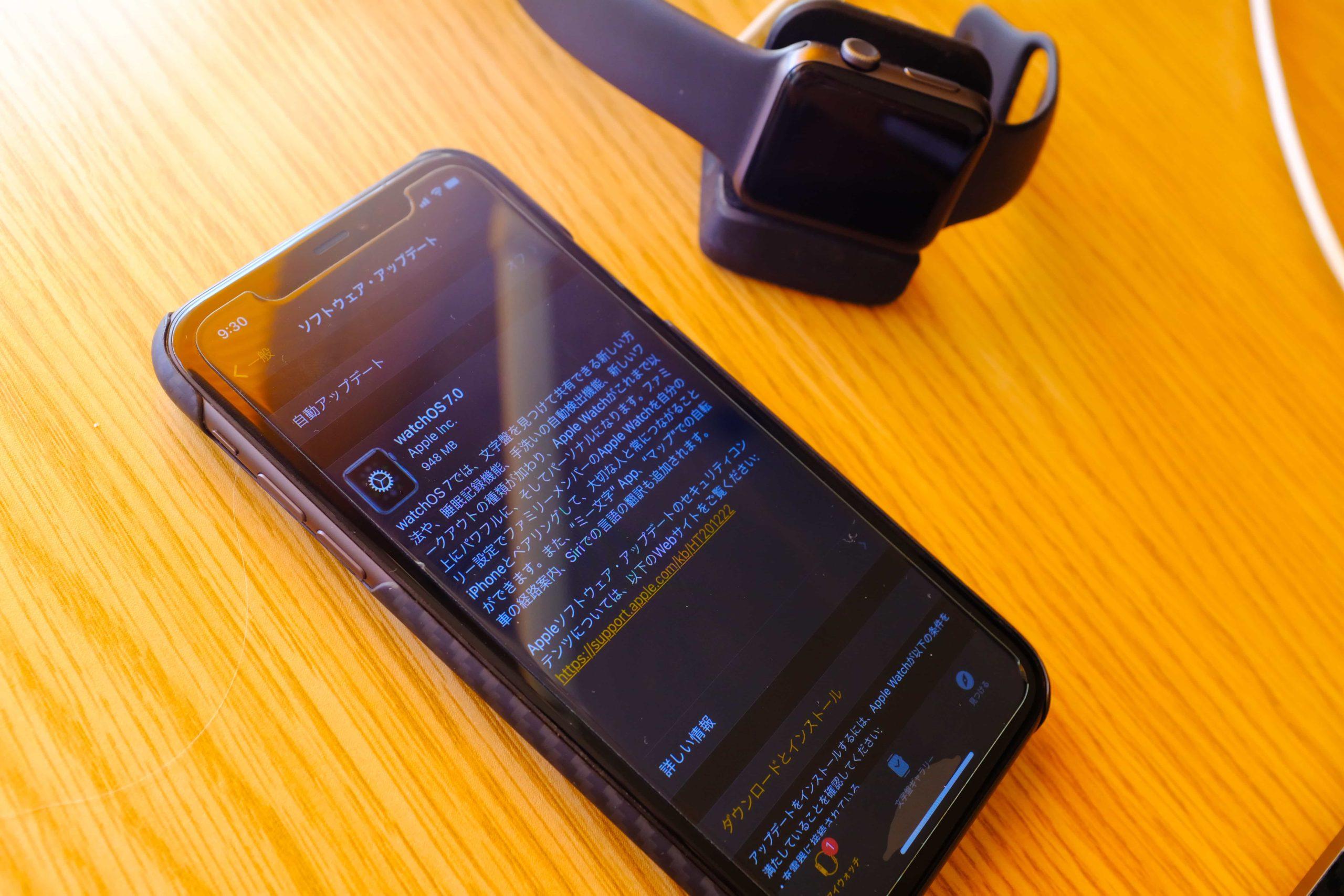 【第2位】Apple Watch Series 3 で「watchOS 7」にまったくアップデートできない