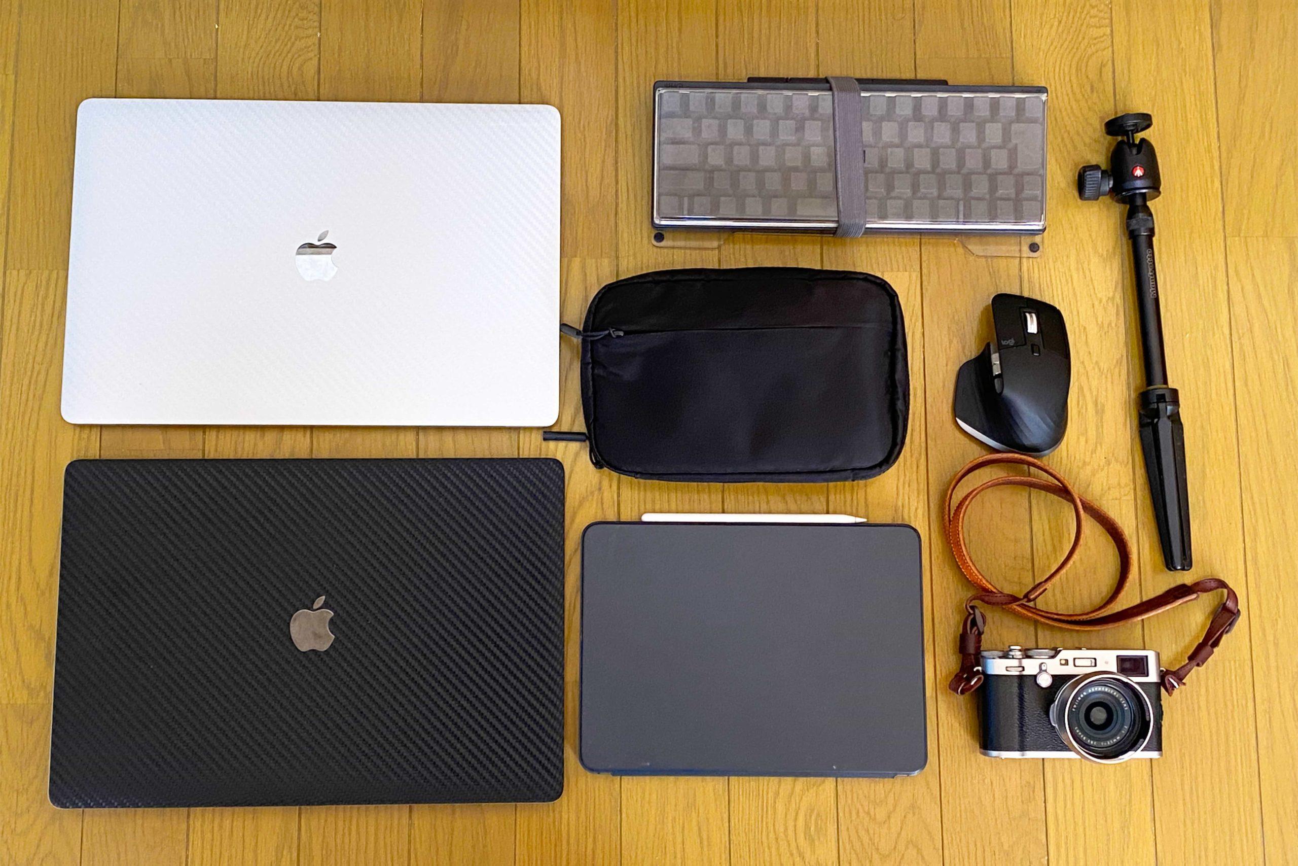 16インチ MacBook Pro 2台 を毎日持ち歩く変態のカバンの中身