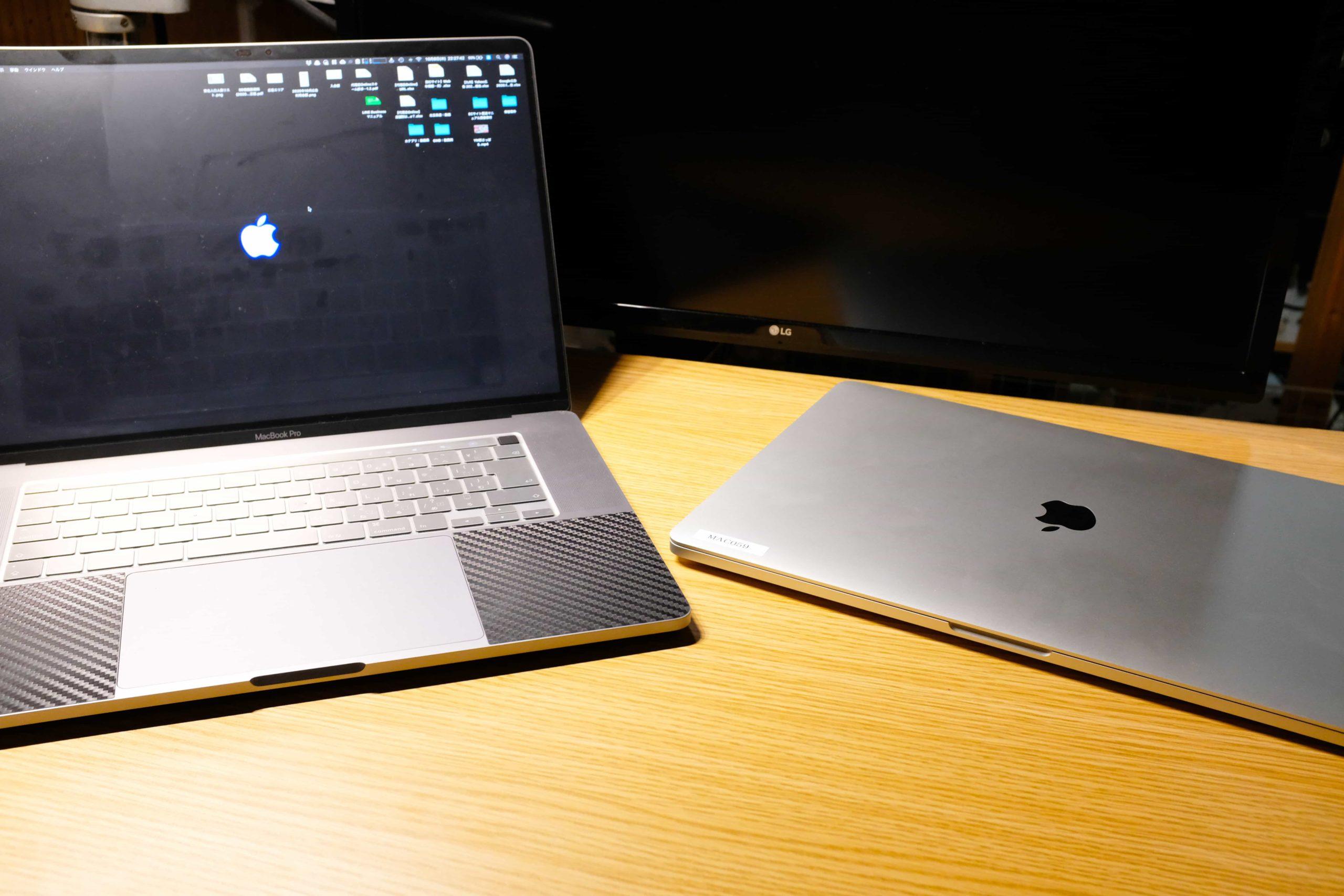 16インチ MacBook Pro 2台持ちユーザーになりました