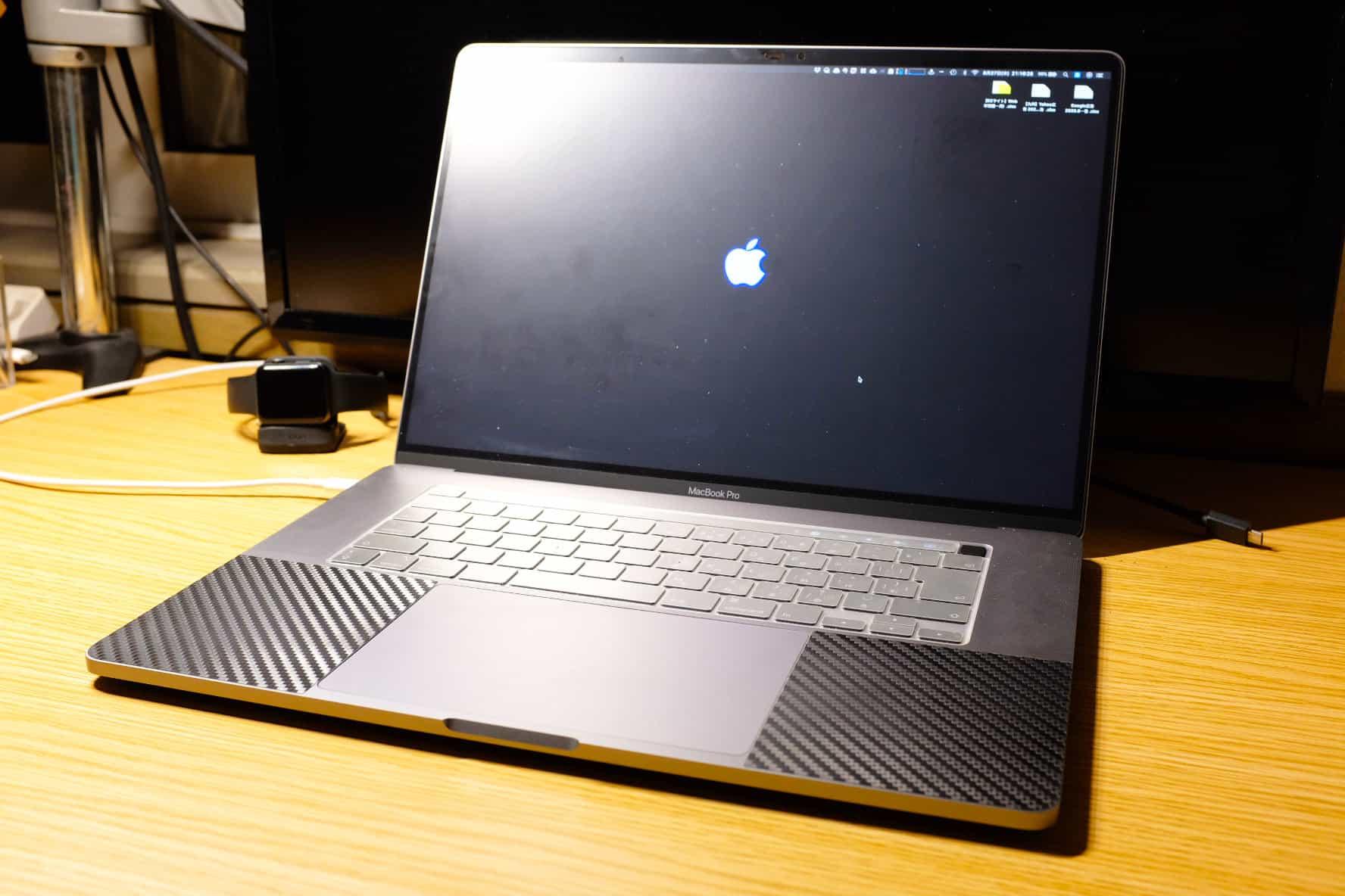 16インチ MacBook Pro のディスプレイサイズって本当に作業がしやすい