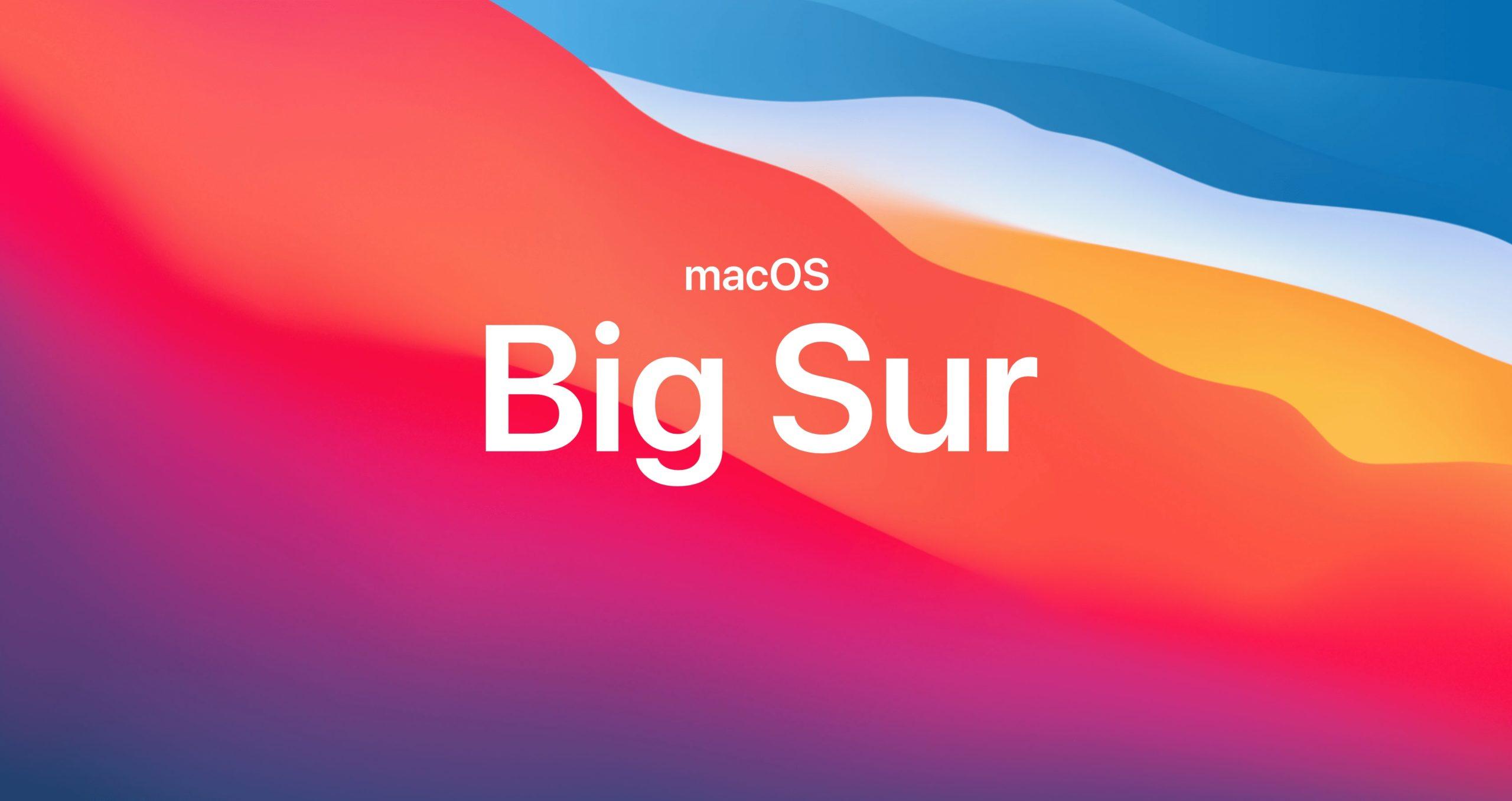 macOS Big Sur にアップデートしてよかった2つのこと