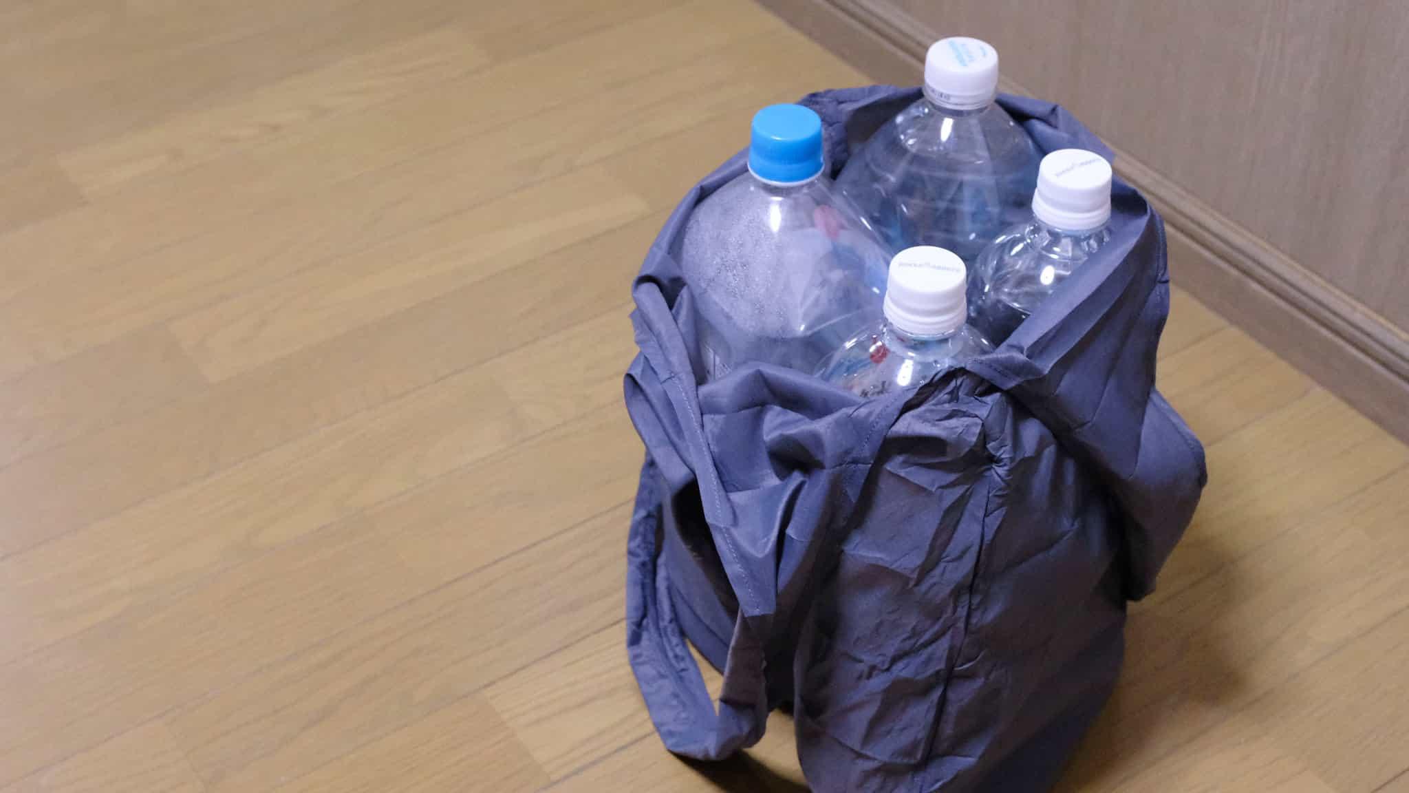 2リットルペットボトルなら4本ぐらい余裕