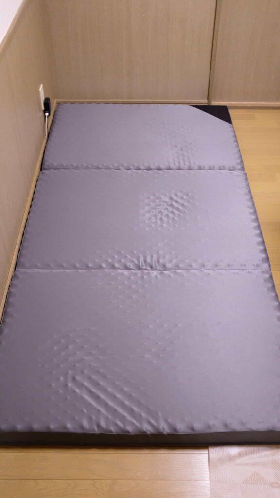 点で支える体圧分散 敷布団