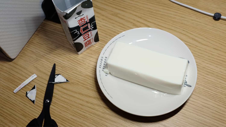 最高に美味しいパンダ杏仁豆腐!
