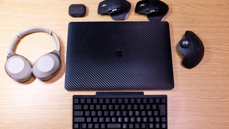 16インチ MacBook Pro に 1番安定してBluetooth接続出来る周辺機器は何なの?ベスト5
