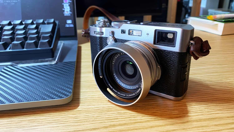 その2:X100F で撮影・画像データ取り込み