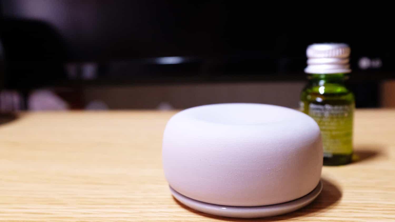 【レビュー】作業デスクに香りを広げてやる気をアップさせたい!無印良品 アロマストーンを購入しました