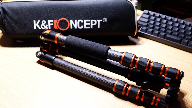 【PR】伝わらない三脚レビュー「K&F Concept B210」が軽量コンパクトで持ち運びするにはいいかも!