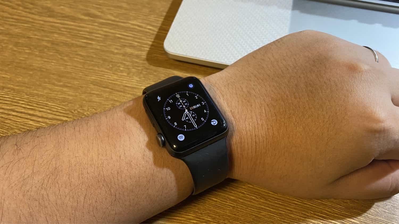 テレワークが長期で続いたせいか、出張にApple Watchを装着してもあまり活躍していない件