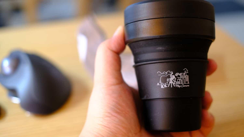 そういえばマップカメラでカメラを購入したら「オリジナルデザイン stojo POCKET CUP」を貰えました