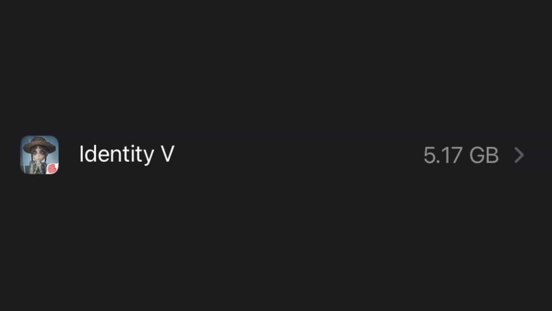 第4位_Identity V(5.17GB)