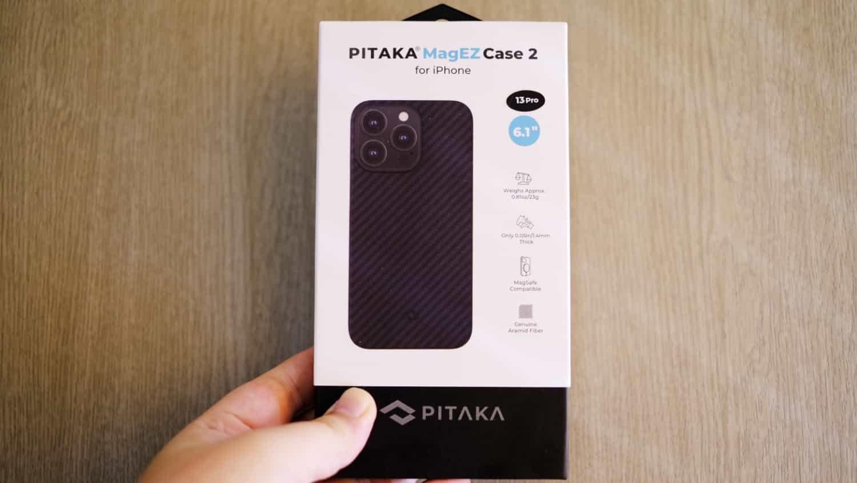 このケースしかありえない!iPhone 13 Pro 用にアラミド繊維製「PITAKA」のケースを購入しました