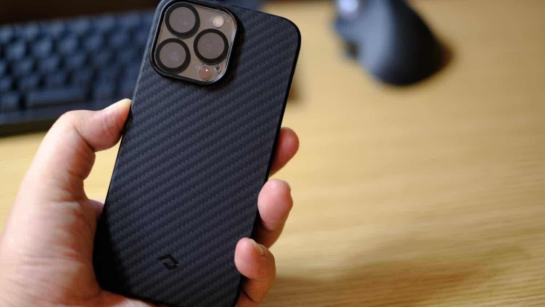 iPhone 13 Pro に装着してみた