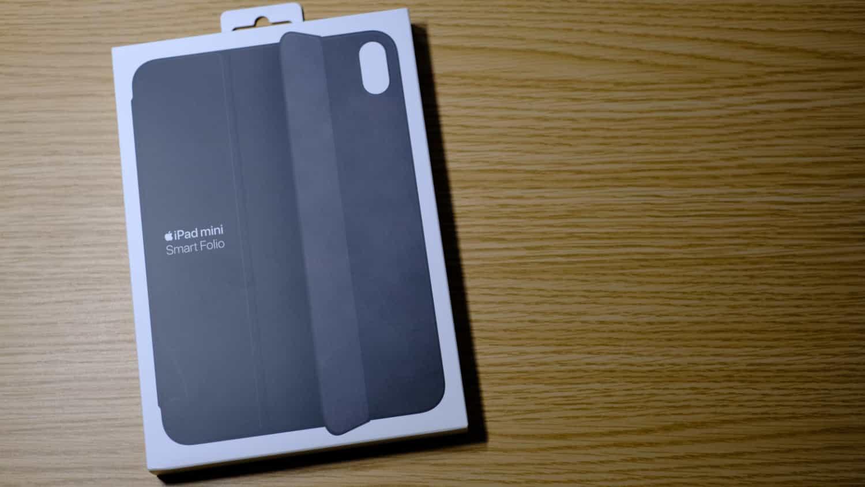 iPad mini(第6世代)で使う予定の Smart Folio が先に届いたので開封しないレビューをします